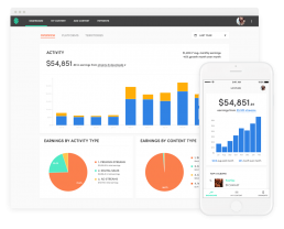Stem Dashboard on Web and iOS