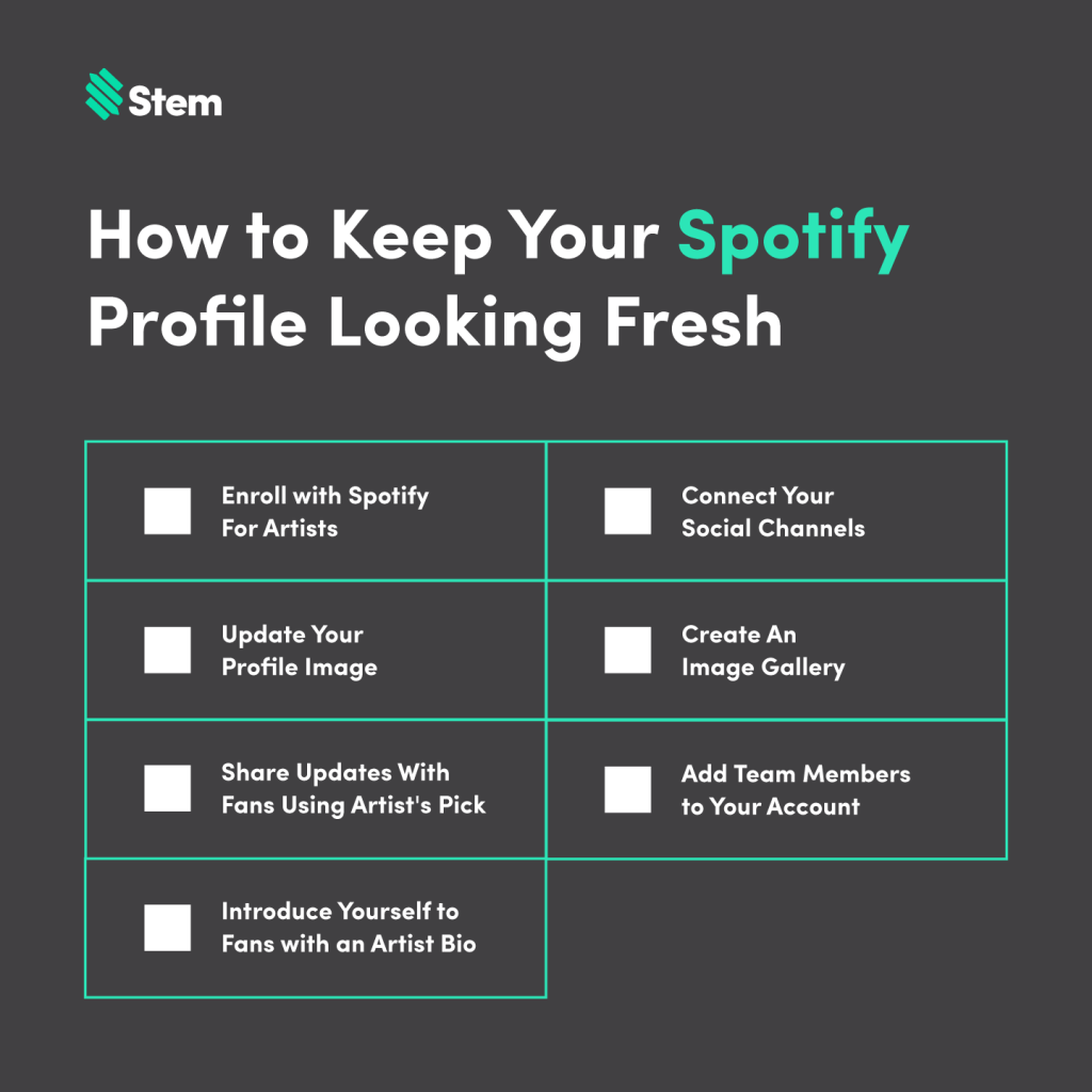 How to Keep Your Spotify Profile Looking Fresh