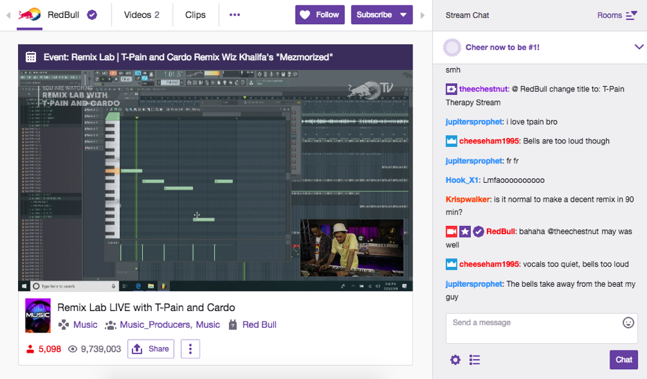 Music Strategy on Twitch: Maximizing the Value of Music in