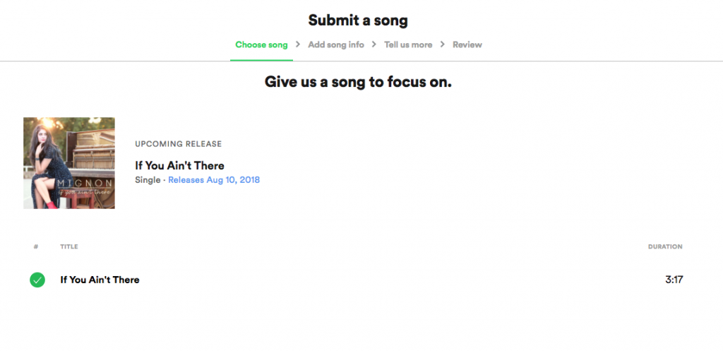 How to Pitch Songs via Spotify for Artists