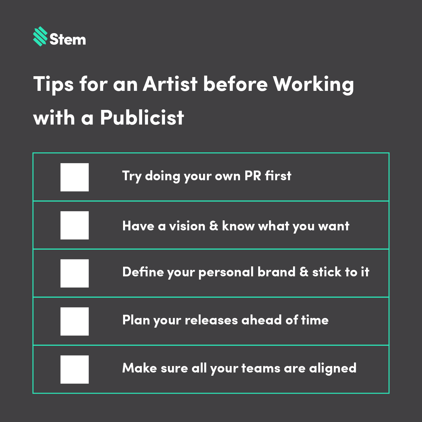 publicist-tips-checklist